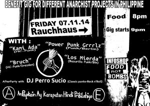 Los Mierda, Kami ada, power Punk Grrrlz, Bruch